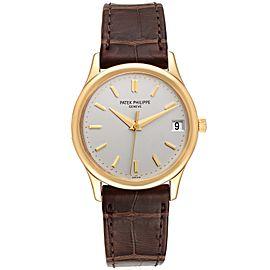 Patek Philippe Calatrava Yellow Gold Automatic Mens Watch