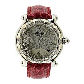 Chopard Happy Sport Snowflake 288946 Womens 38.5mm Watch