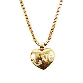 Chopard Happy Diamond 18K Yellow Gold & Diamond Pendant Necklace