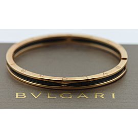Bulgari B.Zero1 18K Rose Gold Ceramic Bracelet