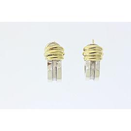 Tiffany & Co. 372456650125-E 18K Yellow Gold, Sterling Silver Earrings