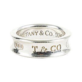 Tiffany & Co. 1837 Sterling Silver Band Ring Size 6