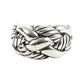 David Yurman Sterling Silver Cable Ring Size 6.5