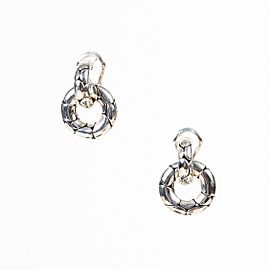John Hardy 925 Sterling Silver Earrings