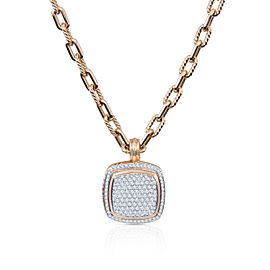 David Yurman Albion 18K Yellow Gold Diamond Pendant