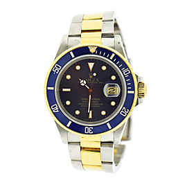 Rolex Submariner 16803 40mm Mens Watch