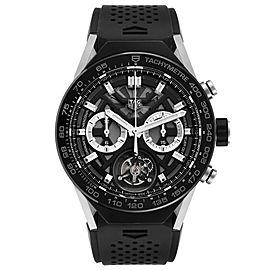 Tag Heuer Carrera Tourbillon Chronograph Titanium Watch ACBF5A80