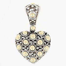 John Hardy 18K Yellow Gold, Sterling Silver Pendant