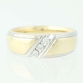 Diamond Wedding Ring Size 11