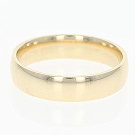 10K Yellow Gold Wedding Ring Size 10.75
