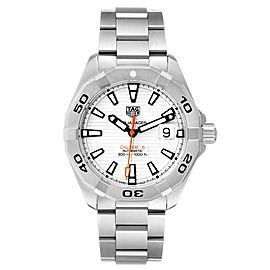 Tag Heuer Aquaracer Calibre 5 White Dial Mens Watch WBD2111