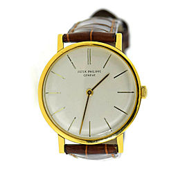 Patek Philippe Calatrava 18K Yellow Gold Watch 3426