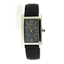 Cartier Tank Americaine 18K White Gold Watch 1741