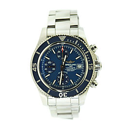 Breitling Superocean Blue Chronograph Stainless Steel Watch A13311D1/C971