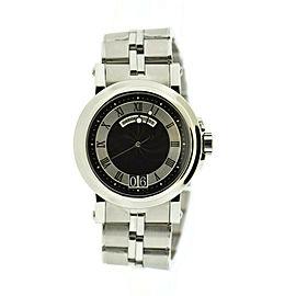 Breguet Marine Big Date Stainless Steel Watch 5817