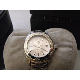 TAG HEUER LADIES LINK WJ1310.BA0571 SWISS QUARTZ SILVER WATCH