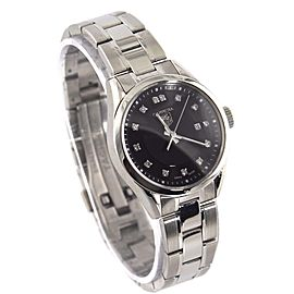 ORIGINAL TAG HEUER LADIES CARRERA WV1410.BA0793 DIAMOND QUARTZ BLACK SWISS WATCH