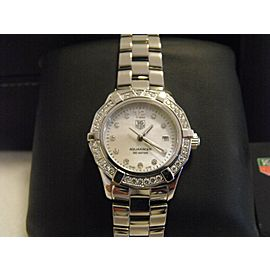 TAG HEUER AQUARACER WAF1416.BA0813 DIAMOND PEARL LADIES WATCH