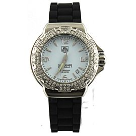 TAG HEUER FORMULA 1 WAC1215.BT0711 DIAMOND LADIES RUBBER QUARTZ WATCH