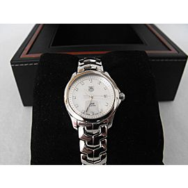 TAG HEUER LADIES LINK WJF1317.BA0572 DIAMOND MOTHER OF PEARL WATCH