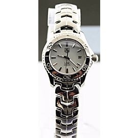 TAG HEUER LADIES LINK WJ1313.BA0572 MOTHER OF PEARL QUARTZ WATCH