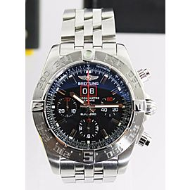 LIMITED BREITLING BLACKBIRD A4436010/BB71 MENS AUTOMATIC CHRONOGRAPH WATCH