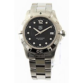 TAG HEUER AQUARACER WAF111C.BA0810 DIAMOND DIAL MENS WATCH