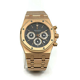 Audemars Piguet Royal Oak Chronograph 18K Rose Gold Watch 25960OR.OO.1185OR.03