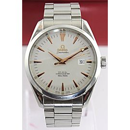 OMEGA SEAMASTER AQUA TERRA 2502.34 AUTOMATIC CO-AXIAL ROSE GOLD MENS WATCH