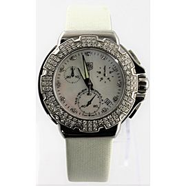TAG HEUER FORMULA 1 CAC1310.FC6219 DIAMOND CHRONO LADIES WATCH