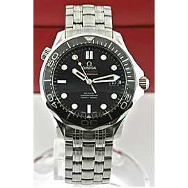 OMEGA SEAMASTER 212.30.41.20.01.003 CO-AXIAL CHRONOMETER BLACK CERAMIC WATCH