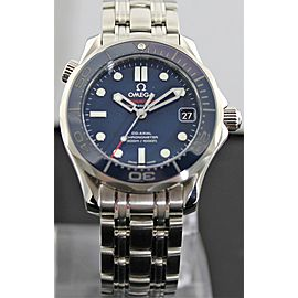 Omega SEAMASTER 212.30.36.20.03.001 CO-AXIAL CHRONOMETER BLUE CERAMIC MIDSIZE WATCH