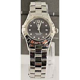 TAG HEUER WAF141C.BA0813 LADIES AQUARACER DIAMOND SS WATCH