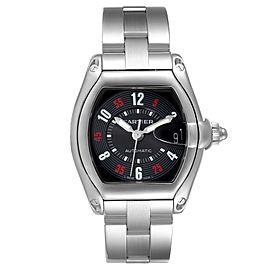 Cartier Roadster Vegas Roulette Red Green Steel Watch