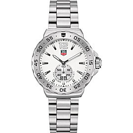 TAG HEUER FORMULA 1 WAU1113.BA0858 GRANDE DATE QUARTZ MENS WHITE WATCH