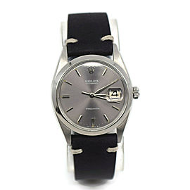 Rolex Oysterdate Precision Stainless Steel Watch 6694