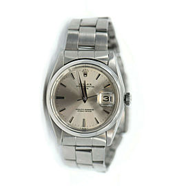 Rolex Oyster Perpetual Date Stainless Steel Watch 1500