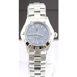 TAG HEUER WAF1417.BA0812 WOMENS AQUARACER BLUE MOTHER OF PEARL WATCH