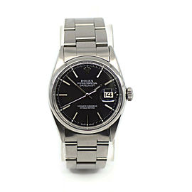 Rolex Datejust Stainless Steel Watch 1600