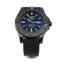 Breitling Blackbird Avenger Black Titanium Watch V17310