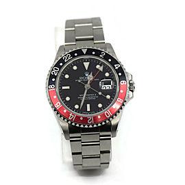 Rolex GMT-Master II Coke Stainless Steel Watch 16710