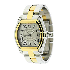 Cartier Roadster 18K/Stainless Steel Watch W62031Y4