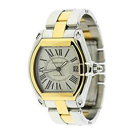 Cartier Roadster 18K/Stainless Steel Watch W62031Y4