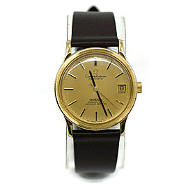 Omega Constellation Chronometer 18K Yellow Gold Watch 166052
