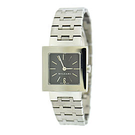 Bvlgari Quadrato Stainless Steel Watch SQ22SS