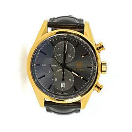 Tag Heuer Carrera Chronograph 18K Rose Gold Watch CAR2141