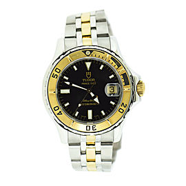 Tudor Prince Hydronaut 18K/Stainless Steel Watch 89193