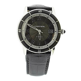 Cartier Ronde Croisiere Stainless Steel Watch WSRN0003