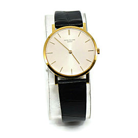 Patek Philippe Calatrava 18K Yellow Gold Watch 3512