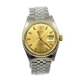Rolex Datejust 14K/Stainless Steel Watch 1601